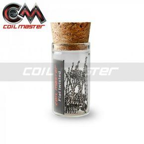 COIL MASTER PREMIUM FLAT TWISTED PREBUILT COIL