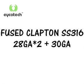 EYCOTECH FUSED CLAPTON SS316 ROLL COIL