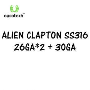 EYCOTECH ALIEN CLAPTON SS316 ROLL COIL