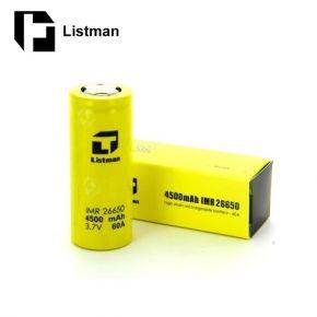 BATERIA LISTMAN 26650 60A 4500MAH | LISTMAN