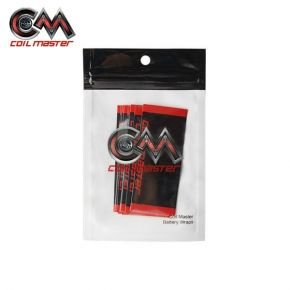 COIL MASTER 18650 BATTERY WRAPS PACK 10 UDS.