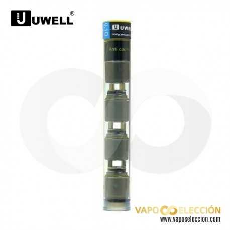 UWELL RAFALE REPLACEMENT COIL NI 0,1 OHM. PACK 4 UDS.