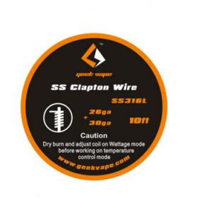 HILO SS316L CLAPTON | GEEKVAPE