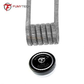 COIL FRAMED STAPLE FULL NI80 0.45OHM 4UDS | FUMYTECH