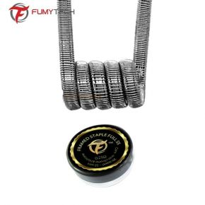COIL FRAMED STAPLE FULL SS316 0.25OHM 2UDS | FUMYTECH