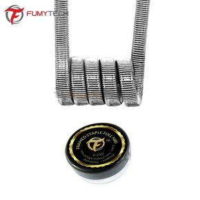 COIL FRAMED STAPLE FULL NI80 0.25OHM 2UDS| FUMYTECH