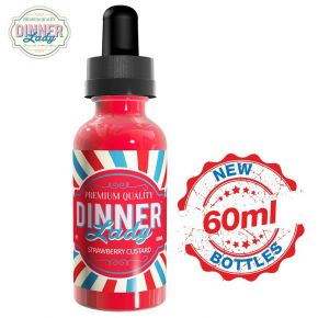 DINNER LADY STRAWBERRY CUSTARD ELIQUID 60 ML