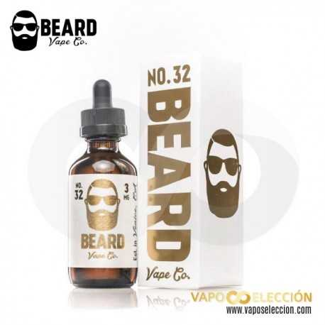 BEARD VAPE Nº 32 ELIQUID 60ML