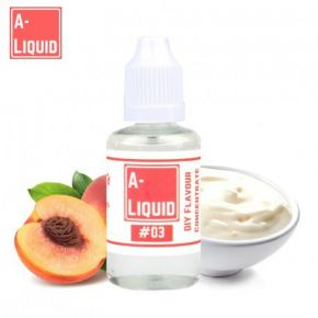AROMA A-LIQUID PEACHES & CREAM 30 ML