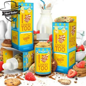 I LOVE COOKIES TOO ELIQUID 60ML by MAD HATTER JUICE