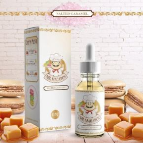 MR. MACARON SALTED CARAMEL by MAD HATTER JUICE 60 ML