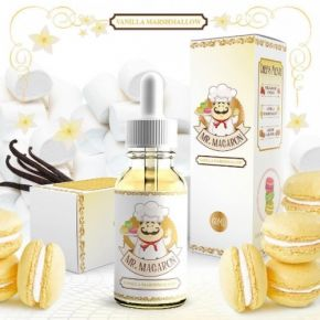 MR. MACARON VANILLA MARSHMALLOW by MAD HATTER JUICE 60 ML