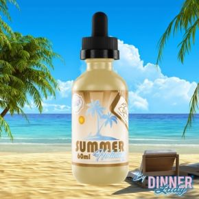 DINNER LADY FLIP FLOP LYCHEE SUMMER HOLIDAYS 60 ML