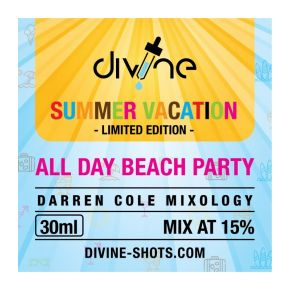 CHEFS FLAVOURS DIVINE SHOTS ALL DAY BEACH PARTY 30 ML