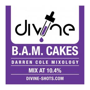 AROMA DIVINE BAM CAKES 30ML | CHEFS FLAVOURS