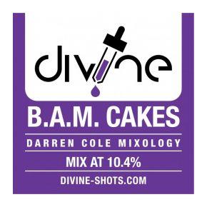 CHEFS FLAVOURS DIVINE SHOTS BAM CAKES 30 ML