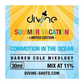 CHEFS FLAVOURS DIVINE SHOTS CONMOTION IN THE OCEAN 30 ML