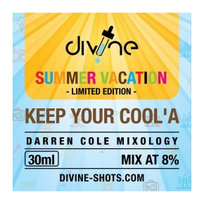 CHEFS FLAVOURS DIVINE SHOTS KEEP YA COOL´A 30 ML