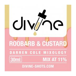 FLAVOUR DIVINE ROOBARB & CUSTARD 30ML | CHEFS FLAVOURS
