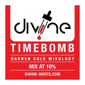 CHEFS FLAVOURS DIVINE SHOTS TIME BOMB 30 ML