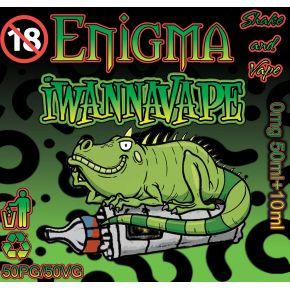 ENIGMA IWANNAVAPE ELIQUID 50ML SHAKE & VAPE