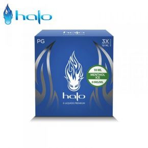 HALO MENTHOL ICE ELIQUID TRIPACK 30 ML