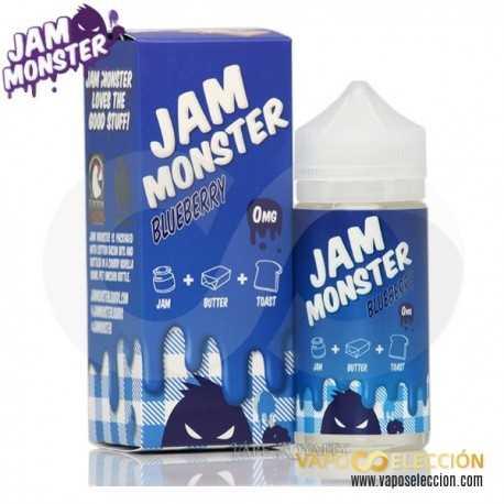 JAM MONSTER BLUEBERRY 100ML SHAKE & VAPE