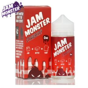 JAM MONSTER STRAWBERRY 100ML SHAKE & VAPE