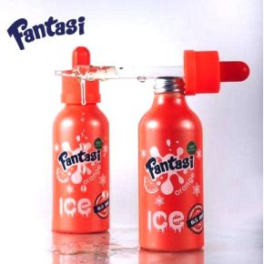 FANTASI ELIQUID ORANGE ICE 0MG 55ML SHAKE & VAPE