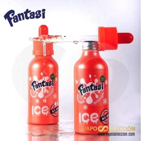 FANTASI ELIQUID ORANGE ICE 0MG 55ML SHAKE & VAPE