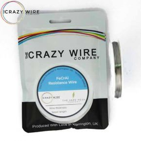 CRAZY WIRE KANTHAL FeCrAl A1 ROUND WIRE