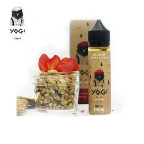 YOGI E-LIQUID STRAWBERRY GRANOLA ELIQUID 50 ML SHAKE & VAPE
