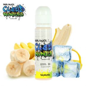 CLOUD NINERS BANANA ELIQUID 50 ML SHAKE & VAPE