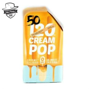 ELIQUID CREAM POP 50ML | MAD HATTER