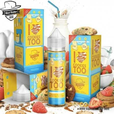 MAD HATTER I LOVE DONUTS TOO ELIQUID 50ML SHAKE & VAPE