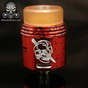 ARMAGGEDON MFG RAPTURE 24 RDA RED COTTON CANDY
