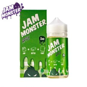 ELIQUID APPLE 100ML | JAM MONSTER