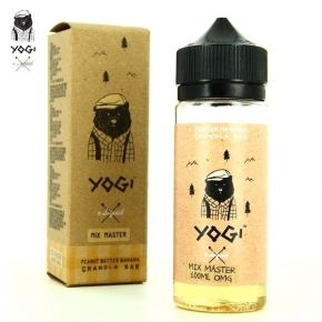 YOGI E-LIQUID PEANUT BUTTER BANANA ELIQUID 100 ML SHAKE & VAPE