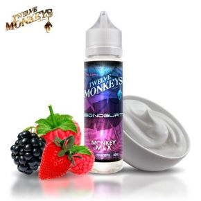 TWELVE MONKEYS MIX MACARAZ ELIQUID 50ML SHAKE & VAPE