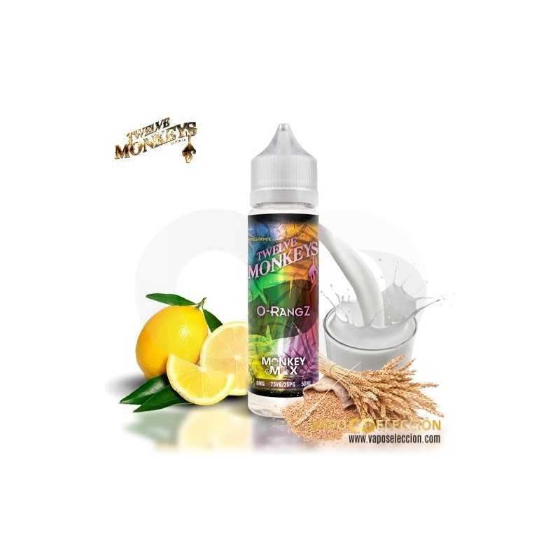 Tri Mix 50ml : Twelve monkeys mix o rangz eliquid ml shake vape