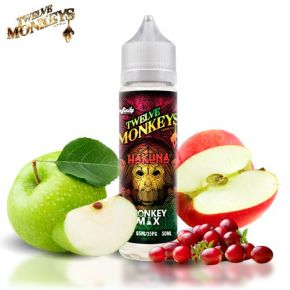 TWELVE MONKEYS MIX KANZI ELIQUID 50ML SHAKE & VAPE