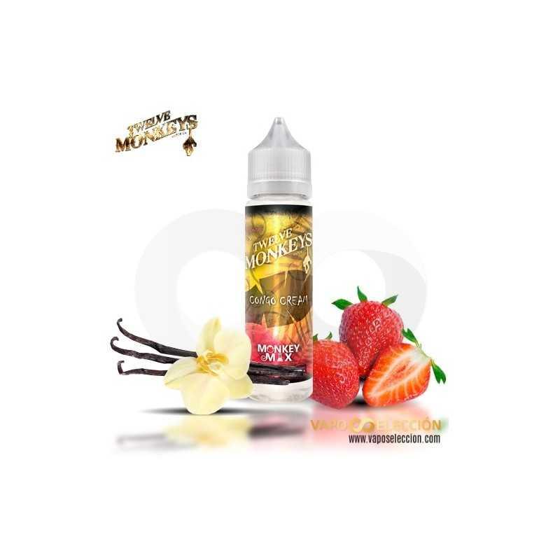 Tri Mix 50ml : Twelve monkeys mix congo cream eliquid ml shake vape