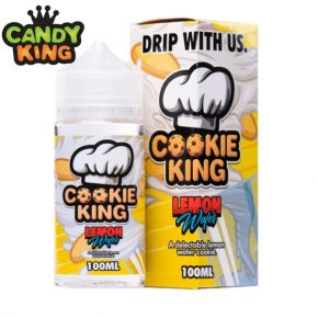 LIQUIDO COOKIE KING LEMON WAFER 100ML | CANDY KING