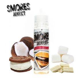 SMORES ADDICT CHEWY COCONUT COOKIES AND WHITE CHOCOLATE 50ML SHAKE & VAPE