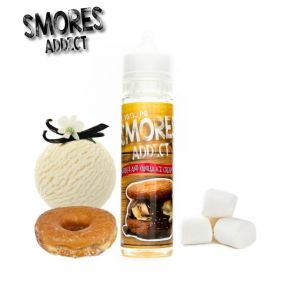 SMORES ADDICT CLASSIC CHOCOLATE CHIP AND GRAHAM CRACKERS 50ML SHAKE & VAPE