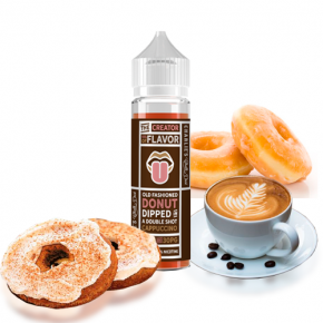 THE CREATOR OF FLAVOR DONUT CAPUCCINO by CHARLIE´S CHALK DUST 50 ML SHAKE & VAPE