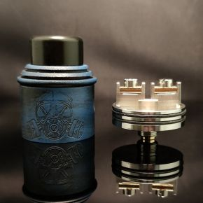 APOCALYPSE GEN 2 BATTLE WORN BLUE EDITION SS DECK RDA by ARMAGEDDON MFG