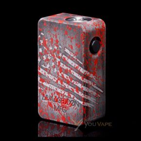 SQUONKER V3 EDITION AMERICAN BLOOD SPLATTER MECH MOD by ARMAGEDDON MFG