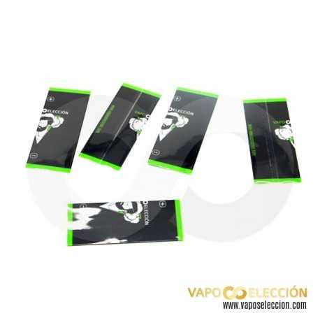 VAPOSELECCION 18650 BATTERY WRAPS PACK 5 UDS.