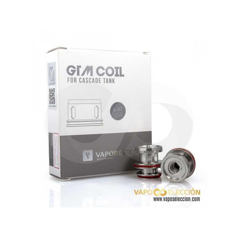 VAPORESSO GTM2 COIL 0,4 OHMS. PACK 3 UDS.